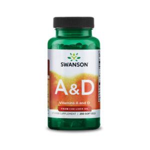 A&D vitamin - 5000NE A-vitamin 400NE D-vitamin