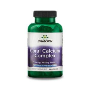 Korall kalcium komplex (Swanson) magnéziummal és D-vitaminnal!