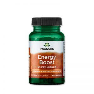 Swanson Energy Boost - 7 gyógynövény erejével az energikus napokért!