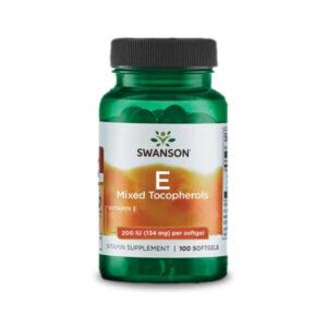 Swanson E-vitamin komplex 200NE vegyes tokoferolokkal