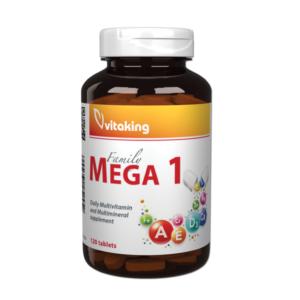 Mega1 Family - kiváló multivitamin, családi kiszerelés - Vitaking