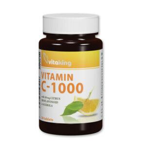 Vitaking C-vitamin 1000mg bioflavonoidokkal