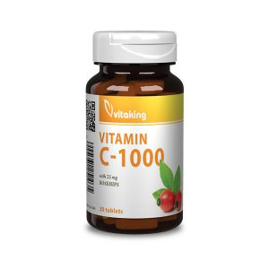 Vitaking 1000 mg-os C-vitamin csipkebogyóval