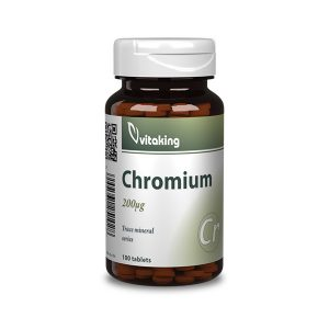 Króm Pikolinát tabletta (200µg) - 100 db - 1920 Ft - VitaminkirályKróm Pikolinát tabletta (200µg) - 100 db - 1920 Ft - Vitaminkirály