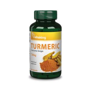 Vitaking Kurkuma - india gyógynövénye kapszulába zárva!