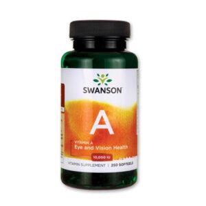 10000NE hatóanyagtartalmú A-vitamin a Swansontól!