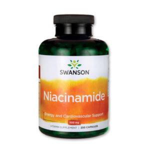 Niacinamid Swanson 250 db-os kiszerelés - VitaminkirályNiacinamid Swanson 250 db-os kiszerelés - Vitaminkirály