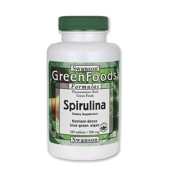 Spirulina alga tabletta (180 db) 4440 Ft - ingyen..