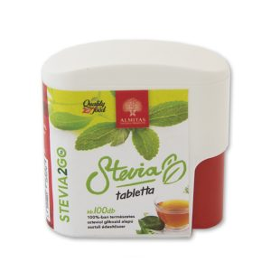 Stevia 2go tabletta 100db