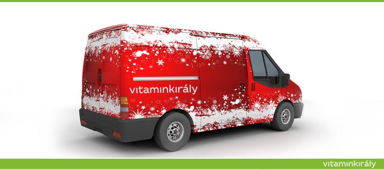 Ajándék vitamin és ingyen szállítás