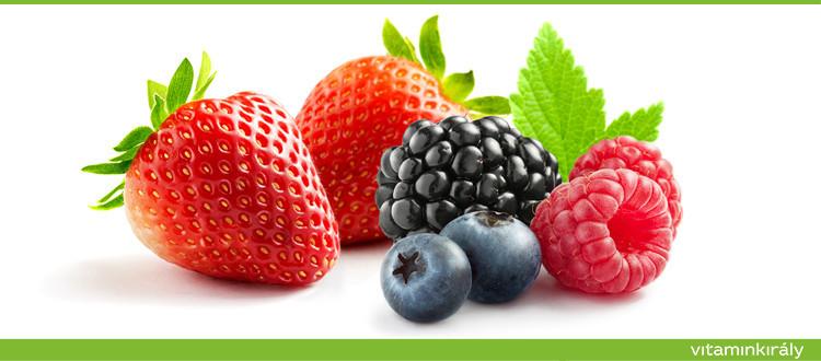 A bogyós gyümölcsök szerepe a rák megelőzésében
