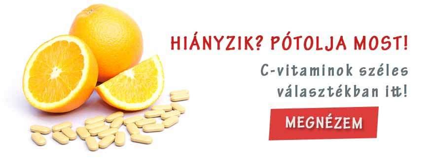 C-vitamin hiány pótlása
