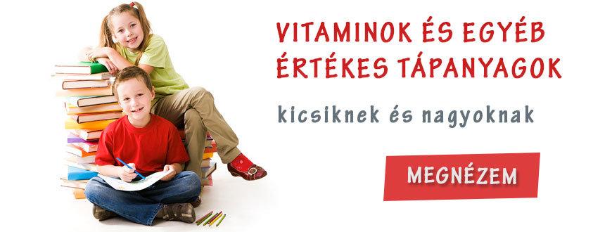 Vitaminok gyerekeknek