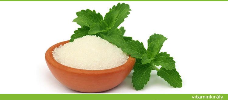 Stevia, édesen egészséges! Próbálja ki Ön is cukor helyett!