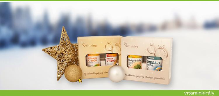 Ajándékozz egészséget! Vitaking termékek elegáns díszcsomagolásban!