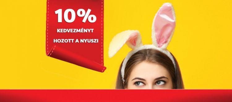 Húsvéti vitamin akció! Most 10% kedvezménnyel válogathat!