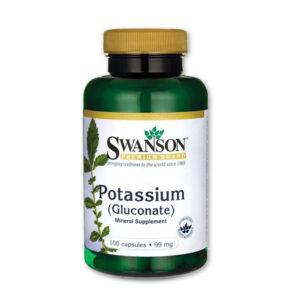 Kálium (potassium) a normál vérnyomás fenntartásához - Swanson
