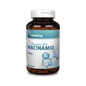 Niacinamid (B3 vitamin) 500mg I 100db - vitaminkiraly.hu