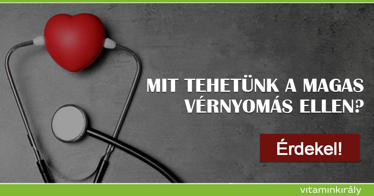 magas vérnyomás és e-vitamin