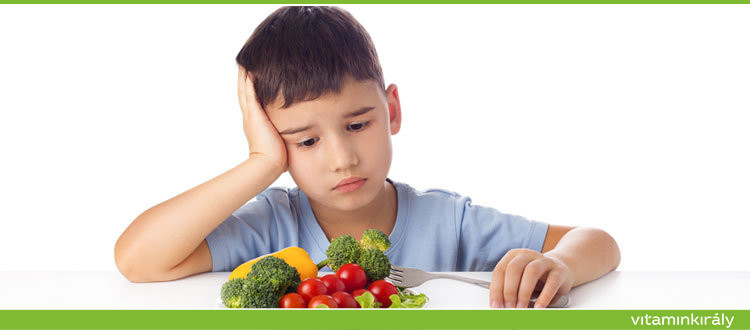 Nem hajlandó enni a gyerek?