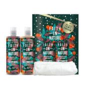 Hajápolási csomag Csoki-Narancs illat (Faith In Nature)