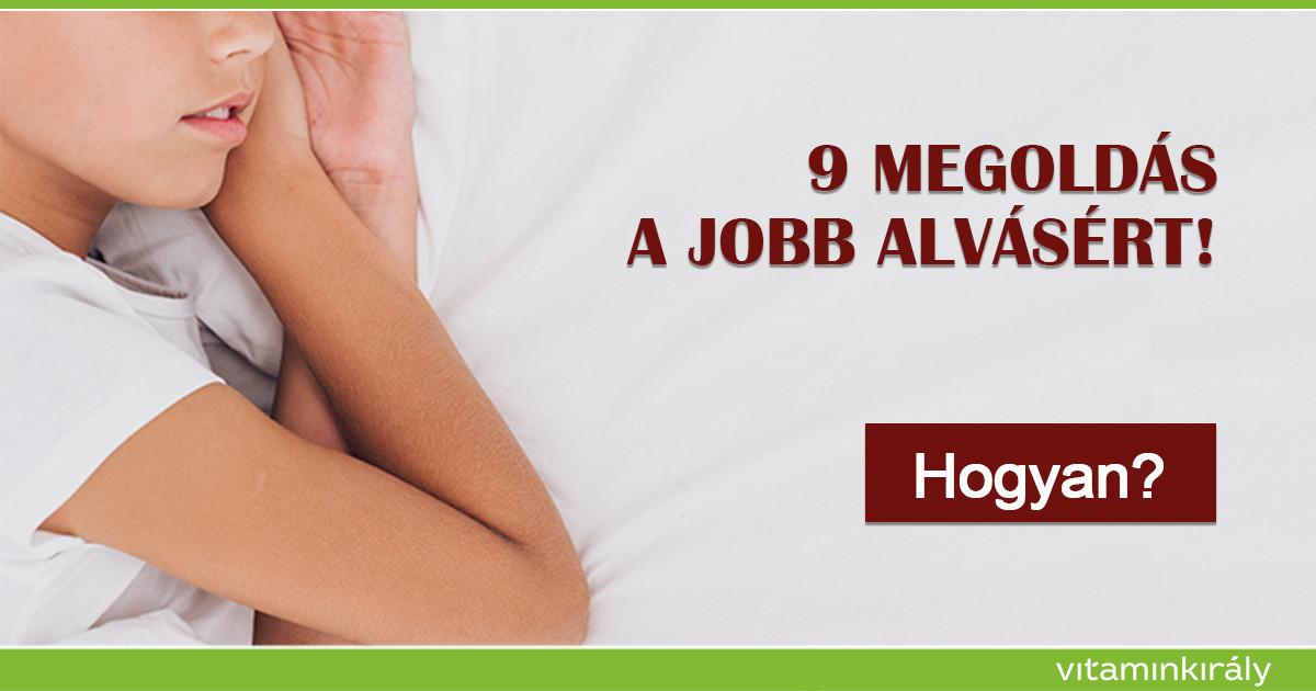Alvás - 9 természetes megoldás a jobb alvásért!