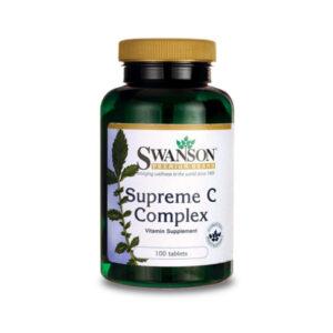 Supreme C-500 komplex (Swanson) 500mg bioflavonoiddal!