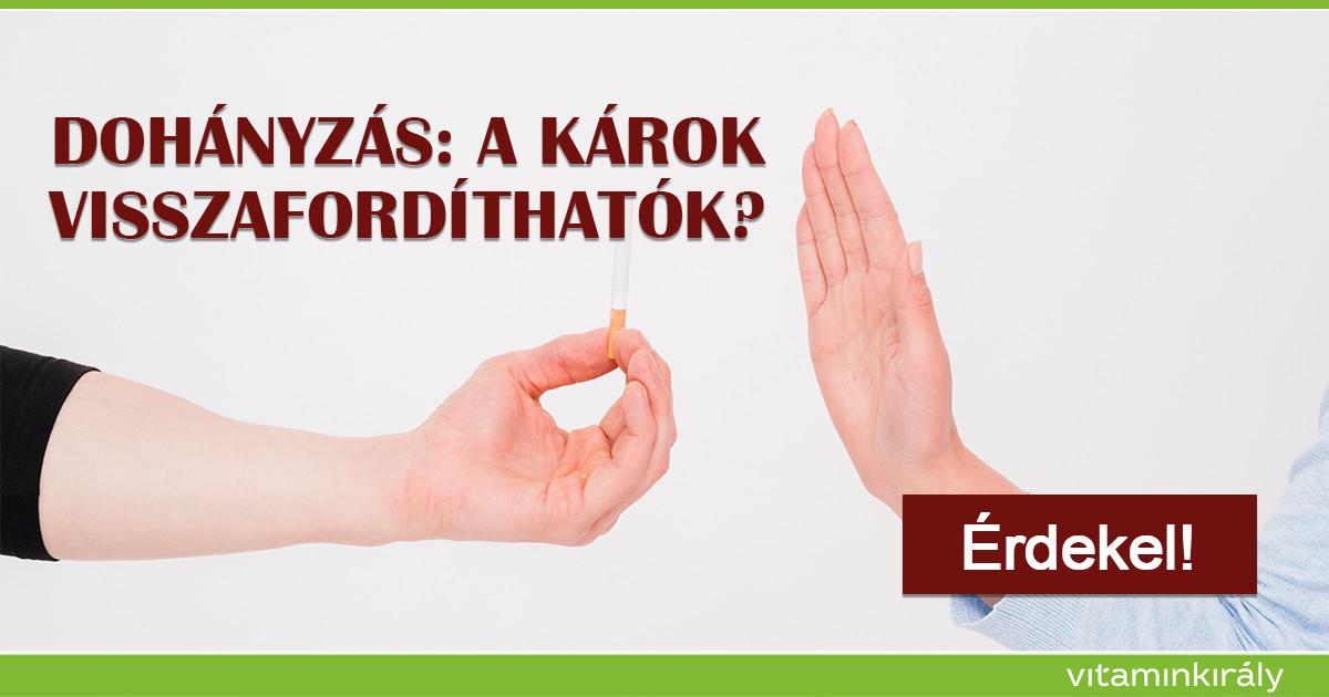 hagyja abba a dohányzást a bőr javításával)