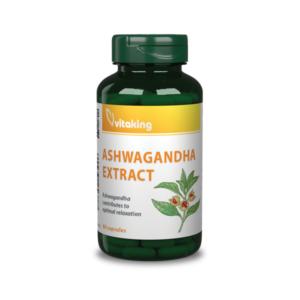 Vitaking Ashwaganda kivonat 240mg ((withanolid tartalom 12mg), stressz ellen