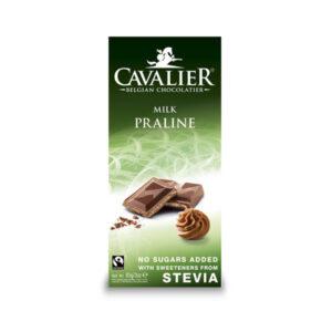 Tejcsokoládé mogyorókrémmel hozzáadott cukor nélkül 85g (Cavalier)